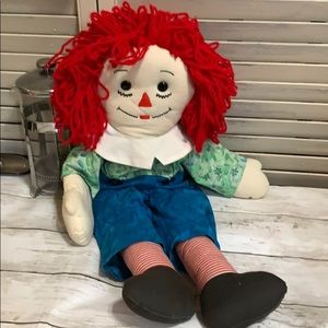 """Raggedy Andy Home made Doll 23"""" Long"""
